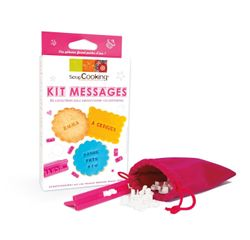 Achat en ligne Kit messages pour biscuit