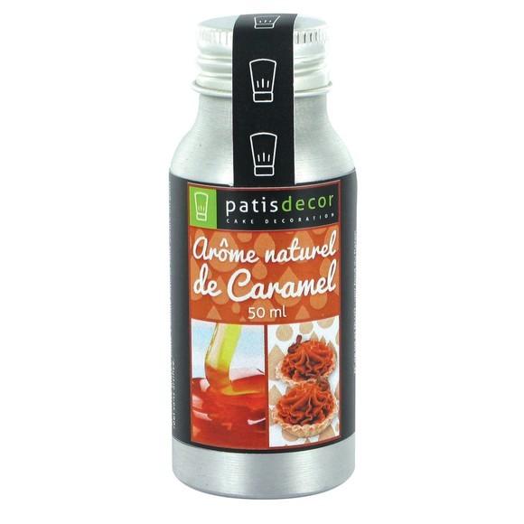 Achat en ligne Arôme naturel caramel liquide 50ml