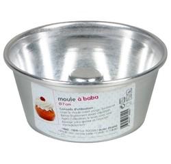 Achat en ligne Moule à savarins ou babas en aluminium 7cm