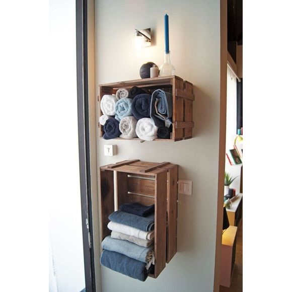 Asciugamano in spugna di cotone grigio 50x100cm
