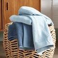 Asciugamano viso in cotone blu grigio 50x100cm