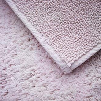 Maom - tapis de bain en éponge rose clair 60x60cm 1300g/m²