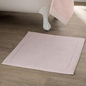 Maom - tapis de bain en éponge rose clair 60x100cm 1300g/m²