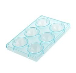 compra en línea Molde para 6 bombones semiesferas de plástico de 7 cm