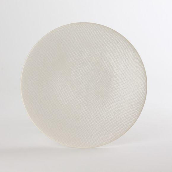 Achat en ligne Assiette plate Vezuvio blanche 27cm