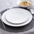 Assiette à dessert Vezuvio blanche 20,5cm