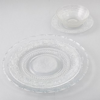 Plat en verre classica 30cm