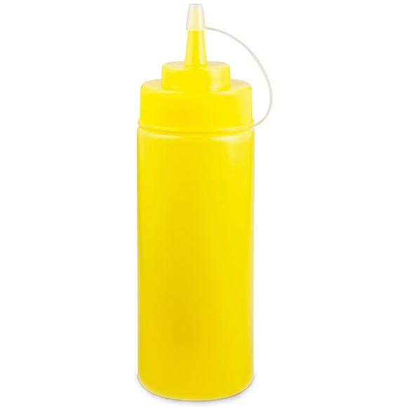 Dosatore per salse in plastica da 360cm giallo