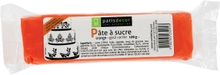 Achat en ligne Pâte à sucre orange aromatisée vanille 100g