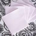 50 serviettes 20x20cm en papier celi ouate rose poudre
