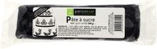 Achat en ligne Pâte à sucre noire aromatisée vanille 100g