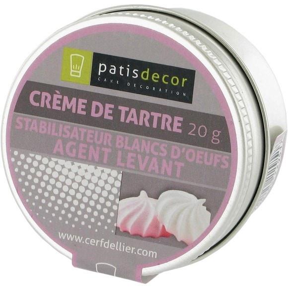 Achat en ligne Crème de tartre 20g