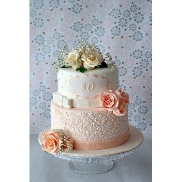 Cake dummie rotondo in polistirolo 25x7cm
