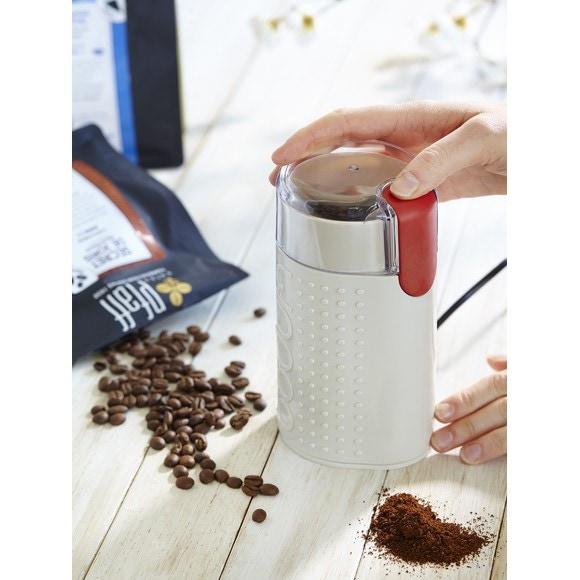 Achat en ligne  Moulin à café blanc Shiny