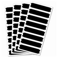 Achat en ligne Set de 32 stickers ardoises/bannières
