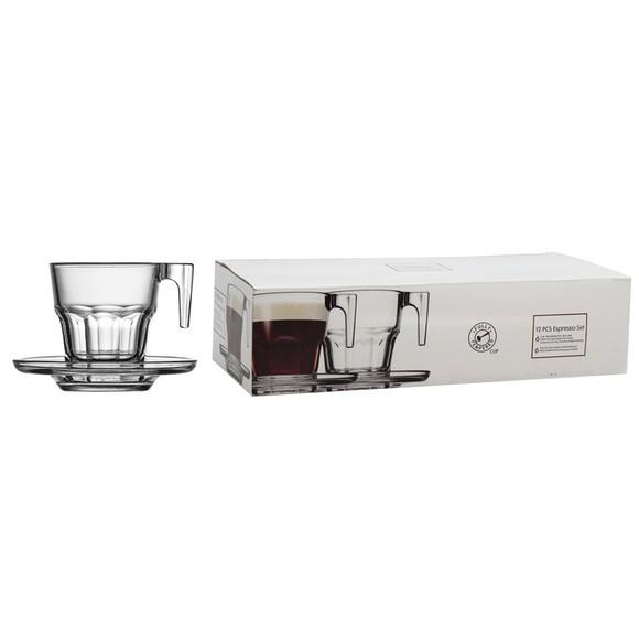 Achat en ligne Coffret 6 paire tasses à café Casa 7cl