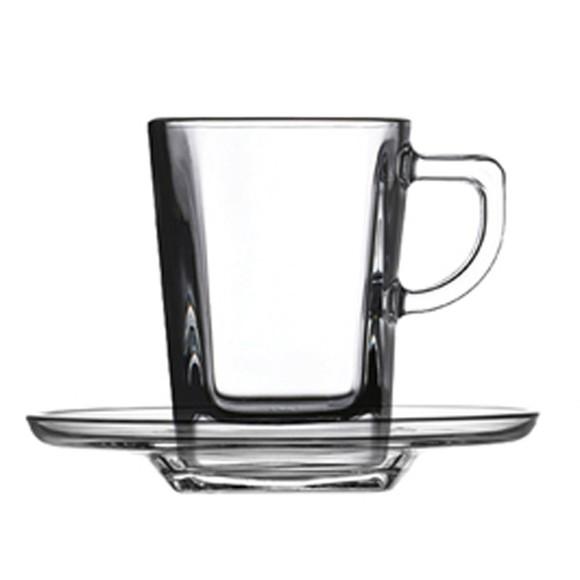 Achat en ligne Coffret 6 paire tasse à café carrée 7cl