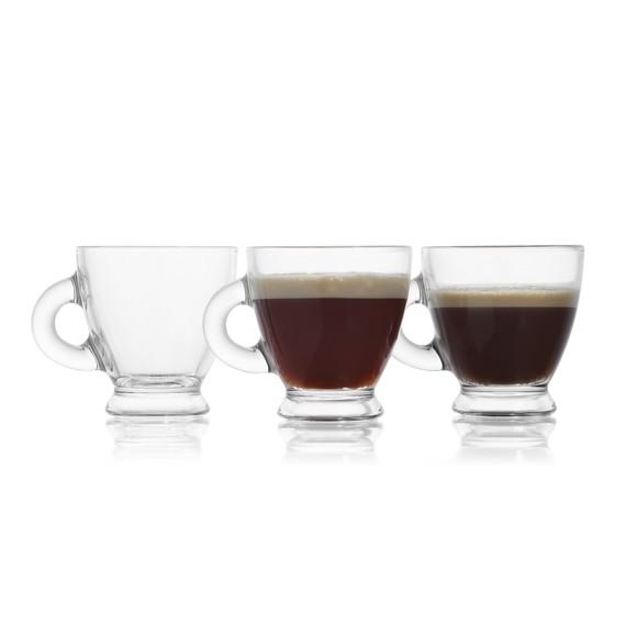 Achat en ligne Coffret 6 tasses à café Roma 9,5cl