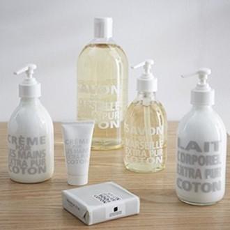 Distributeur savon de marseille coton 50cl