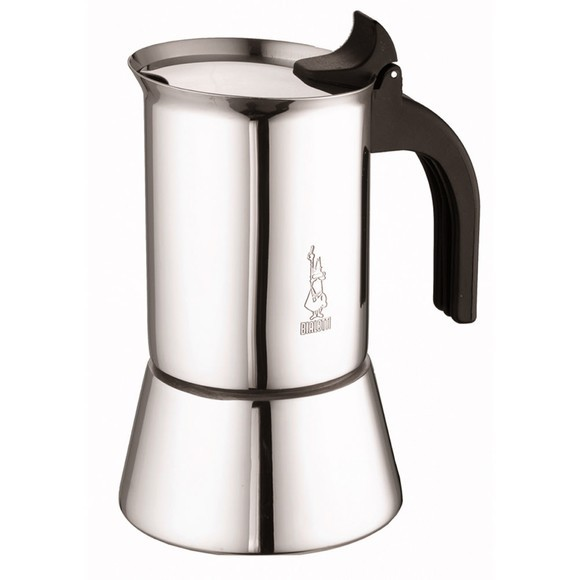 Cafetière italienne a induction en inox 4 tasses Venus