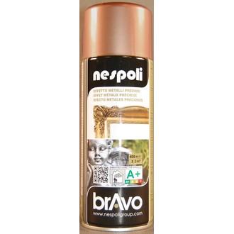 NESPOLI - Indispensables peinture professionnelle aérosol chrome cuivre en spray 400 ml