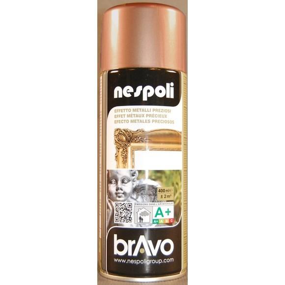 peinture professionnelle aérosol chrome cuivre spray 400 ml