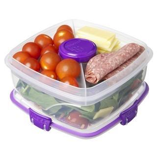 Boite de conservation pour salade avec couverts To Go 1,1L
