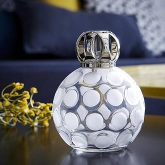 LAMPE BERGER - Lampe sphère givrée