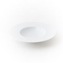 Achat en ligne Assiette creuse à pâtes ou risotto Zen blanche 23 cm