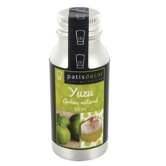 PATISDECOR - Arôme naturel de yuzu liquide 50ml