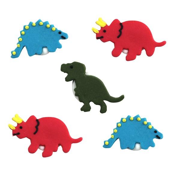 Décors en sucre dinosaures 9g