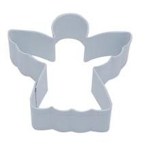 Achat en ligne Emporte-pièce ange blanc en métal revêtu 8,5cm