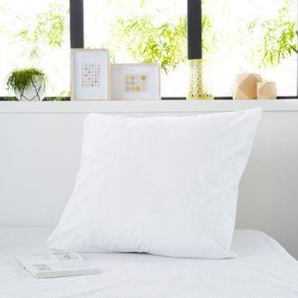 ZODIO - Protège oreiller en coton imperméable traitement anti acariens zippé 65X65cm