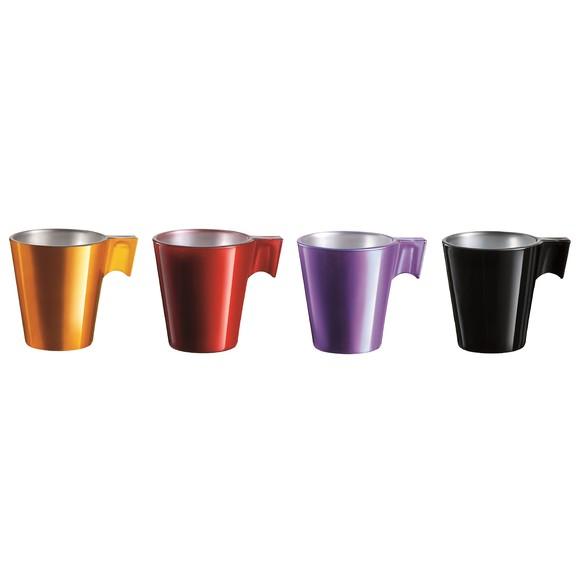 Achat en ligne Coffret 4 tasses à café Flashy