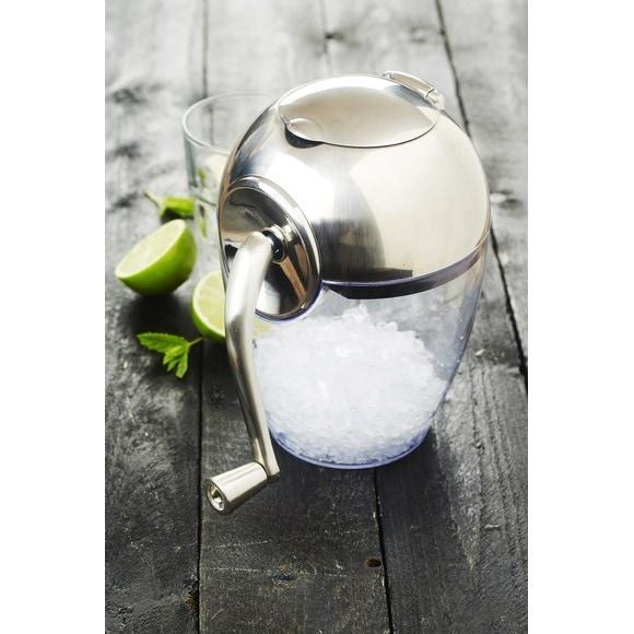 compra en línea Picadora de hielo manual de plástico (20 x 25 x 21 cm)