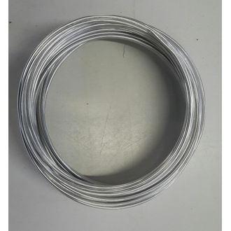 Fil alluminium de fleuriste argent 2mmx12m