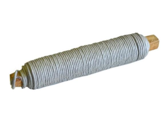 Achat en ligne Fil de fer recouvert de papier gris épaisseur 2mm 25M