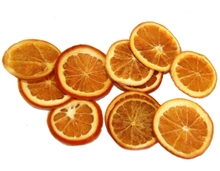 Achat en ligne Sac de 15 tranches d'orange séchée décoratives
