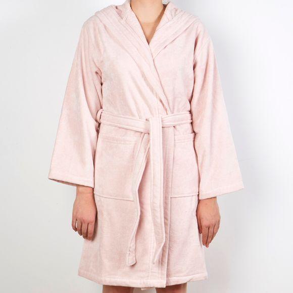 official photos buy cheap reasonably priced Peignoir femme en coton éponge fard Taille S