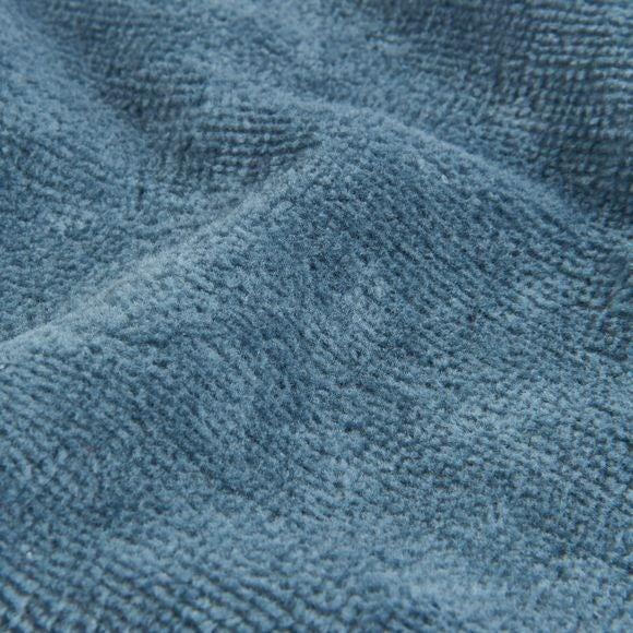 Accappatoio in spugna di cotone blu taglia M