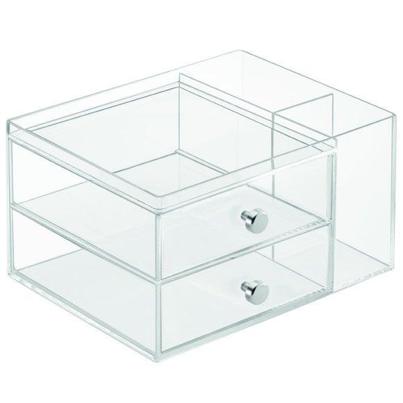 Porta trucchi 2 cassetti + 2 scomparti