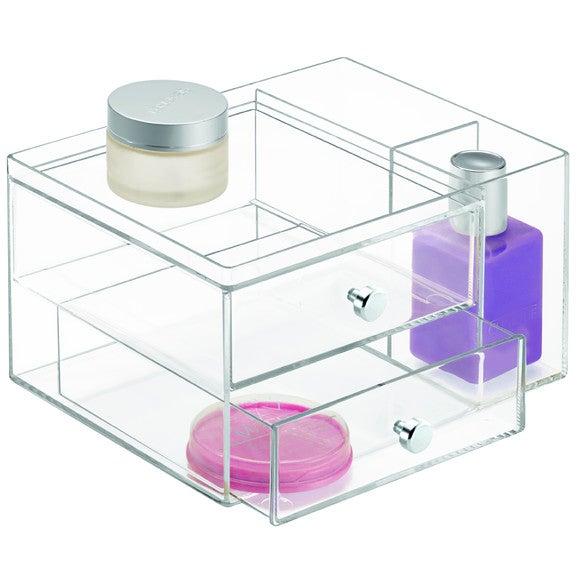 Achat en ligne Range maquillage 2 tiroirs + 2 pots
