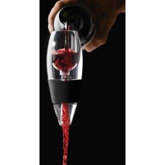 VINTURI - Aérateur à vin rouge transparent
