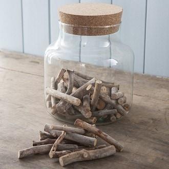 Sac de buchettes en bois naturel 500gr