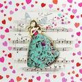 Carte Glitter 14x14cm