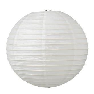 Boule japonaise en papier blanc Ø30cm
