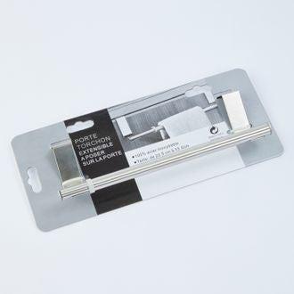 Porte torchon extensible en inox 22,5cm