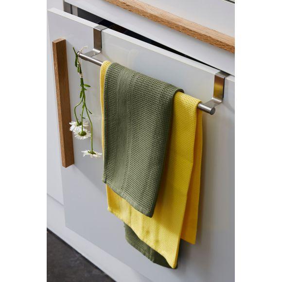 Porta strofinaccio estensibile in inox 22.5 cm