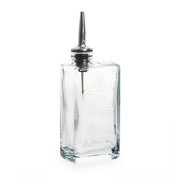 Bottiglia per aceto in vetro 250ml