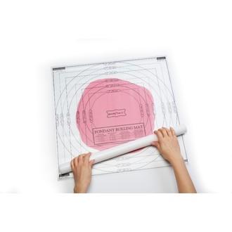 Tapis à pâtisserie pour glaçage 50x50cm